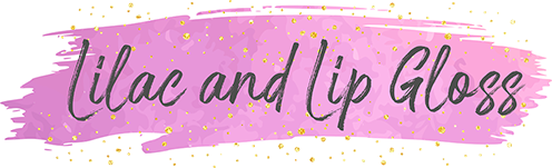 Lilac and Lipgloss Logo - A Fashion and Lifestyle Blog