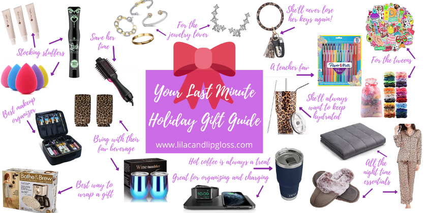 Your Last Minute Holiday Gift Guide