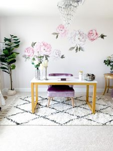 Glamming Up My Blogging Space with a Home Office Renovation